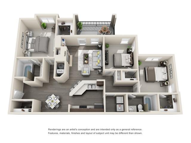 Floor Plan 4 | Aspen Ridge