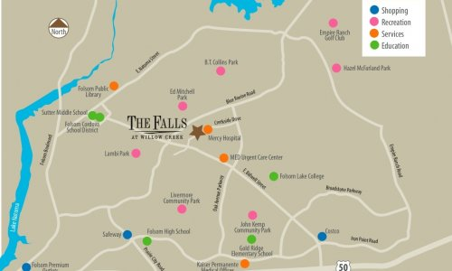 the falls at willow creek folsom ca apartments munity map