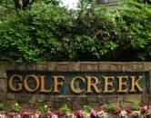 entry to Golf Creek Apartment Homes