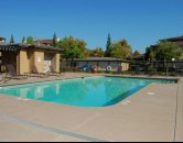 the pool at the legends at willow creek in Folsom CA