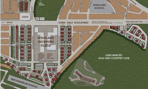 Westlake Village Community Site Map