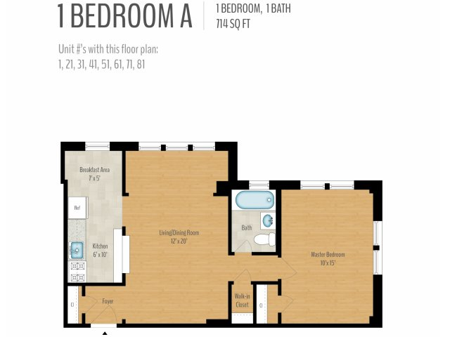 for the 1 Bedroom floor plan. 1 Bed   1 Bath Apartment in Washington DC   Alto Towers