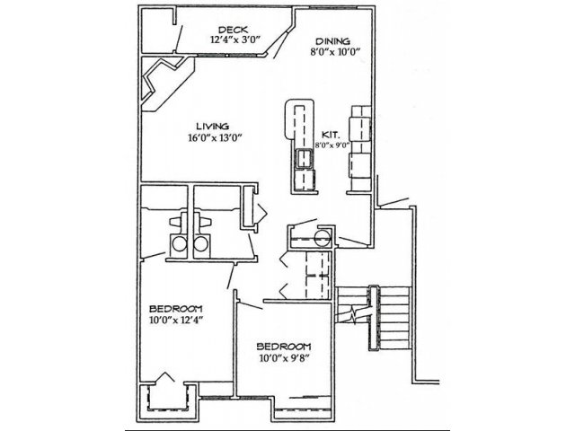These included full size washer & dryers, a wood burning fireplace and select homes have vaulted ceilings and walk in closets. Residents enjoy a real baker's kitchen with plenty of counter space and cupboards for storage and a pantry!