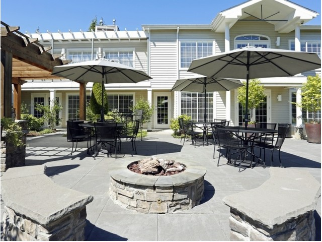 Image of Patio with Fire Pit for Murrayhill Park