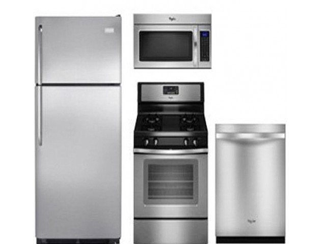 Image of Stainless Steel Appliances for Crescendo