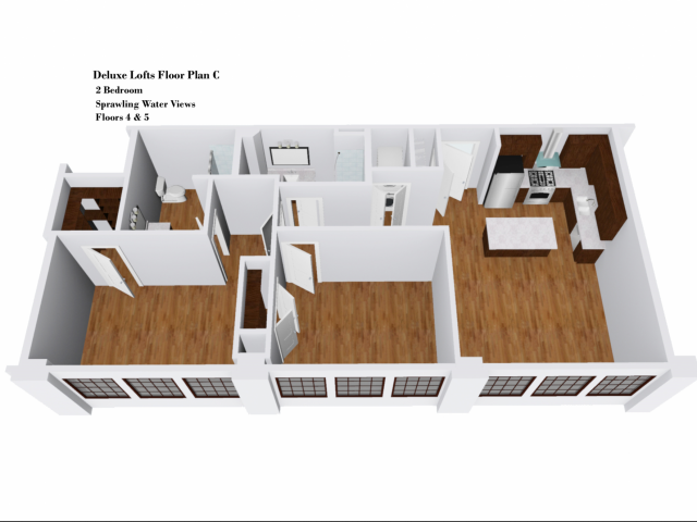 Deluxe Lofts Floor Plan C