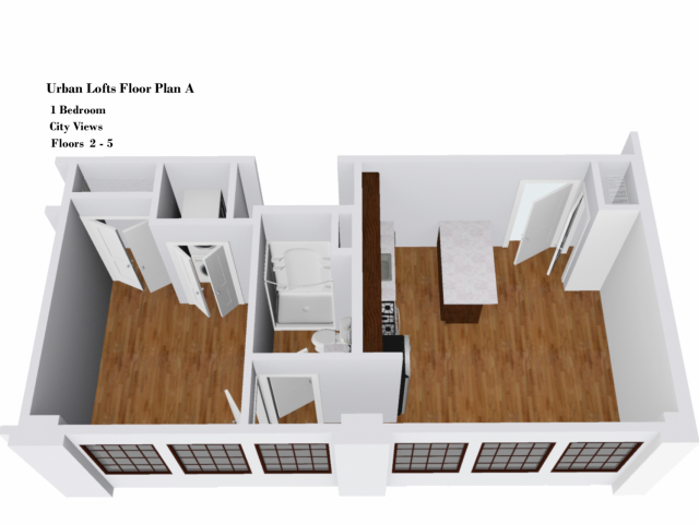 Urban Lofts Floor Plan A