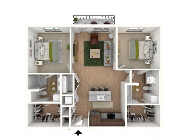 B2 - floor plan wfurniture display