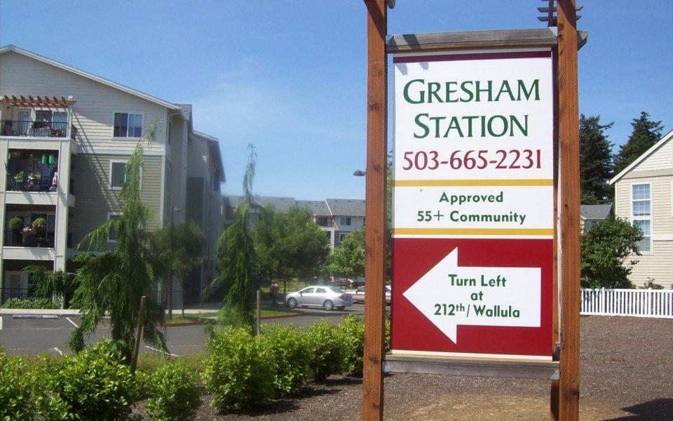 Gresham Station