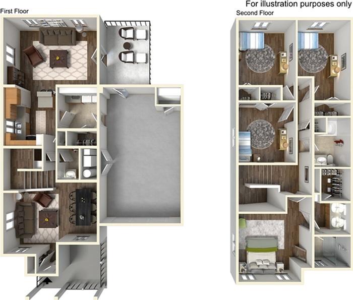 campbell crossing | 4 bedroom