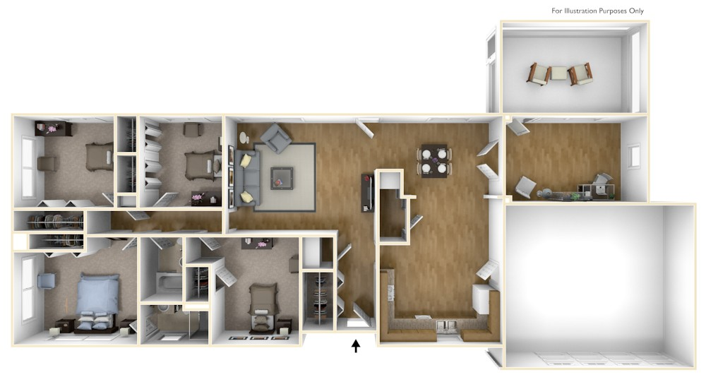 Denmark floorplan