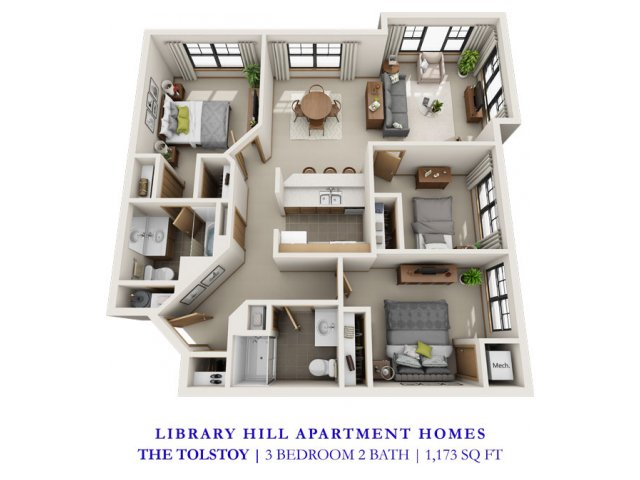 Library Hill Apartments
