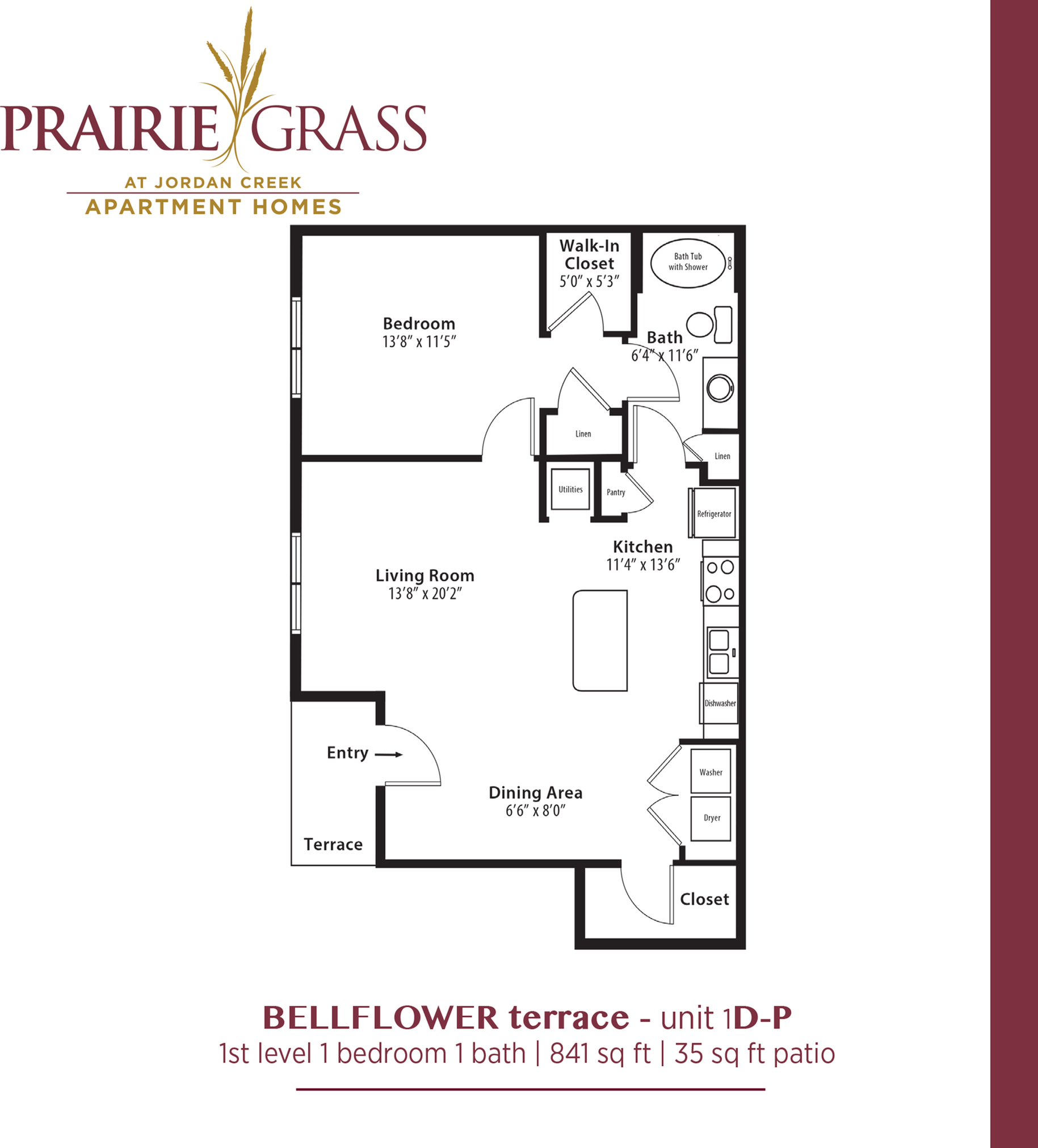Bellflower Terrace - Lower 1 Bedroom with Patio