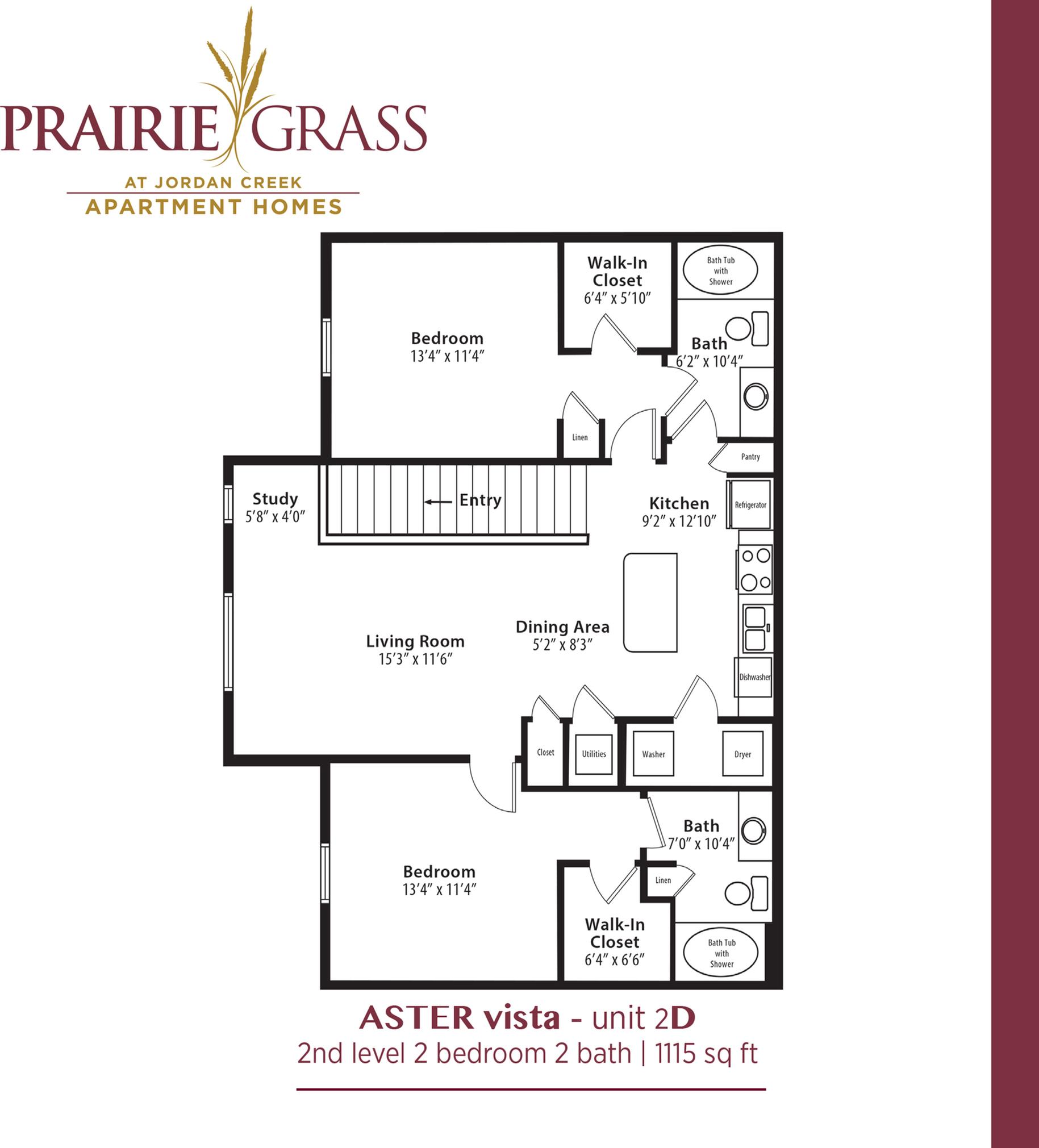 Aster Vista - Upper 2 Bedroom