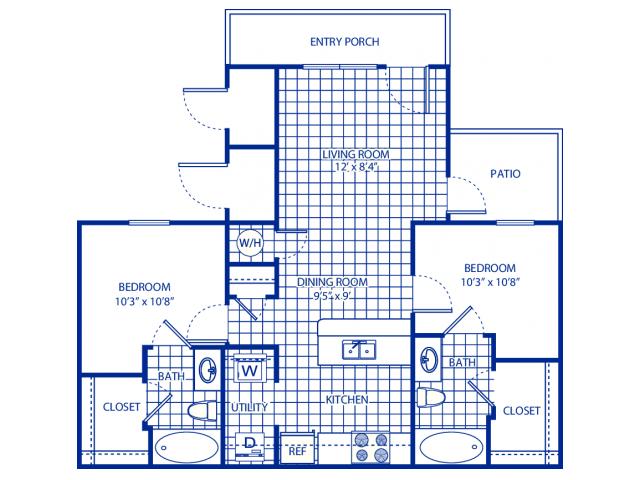 All Floor Plans2 Bedroom Flat