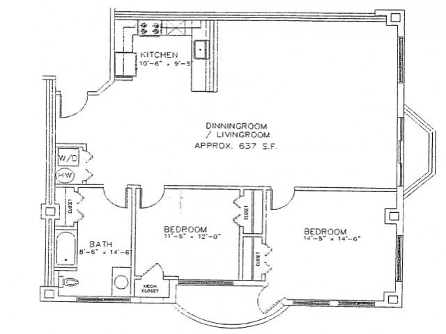 Floor Plan 14 | Carisbrooke at Manchester