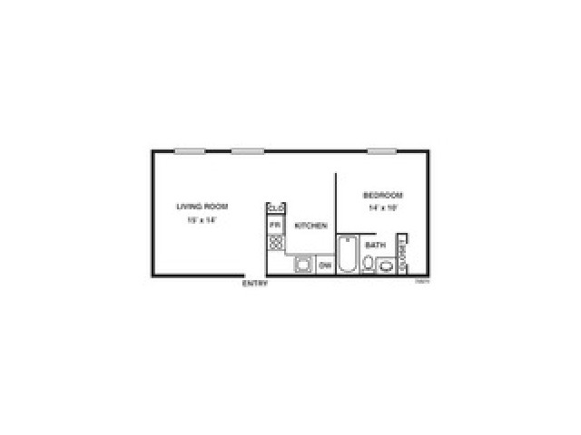 Floor Plan 6 | Coach House Apartments
