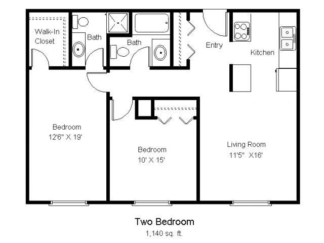 2 Bed 2 Bath Apartment In Albertville Mn Albertville Meadows Albertville Meadows