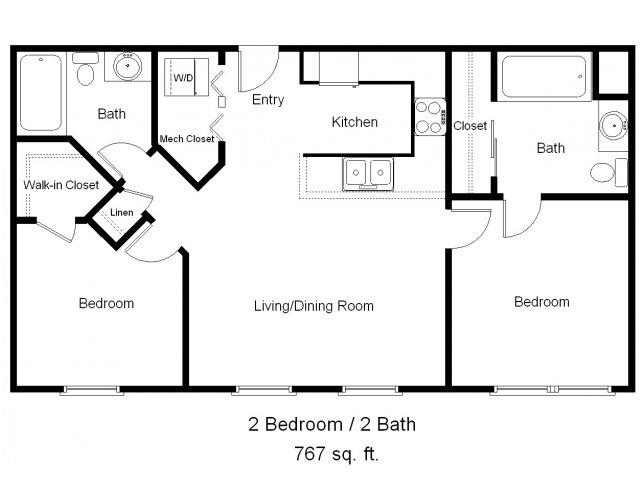 2 bed / 2 bath apartment in dallas tx | pegasus villas | pegasus