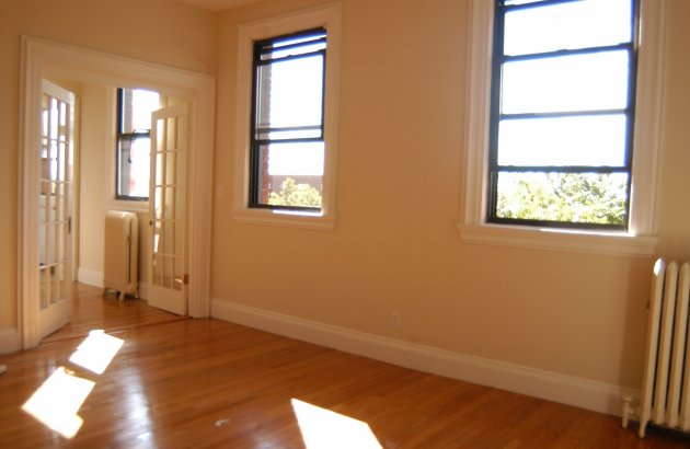Natural light illuminates our beautiful apartment interiors here at Princeton on Beacon Street.