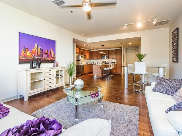 Image of The Finest Selection of 1 & 2 Bedroom Apartments Offering Panoramic Views of Downtown Dallas for LTV Tower