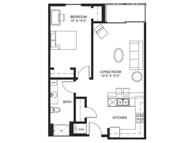 Apartment 505