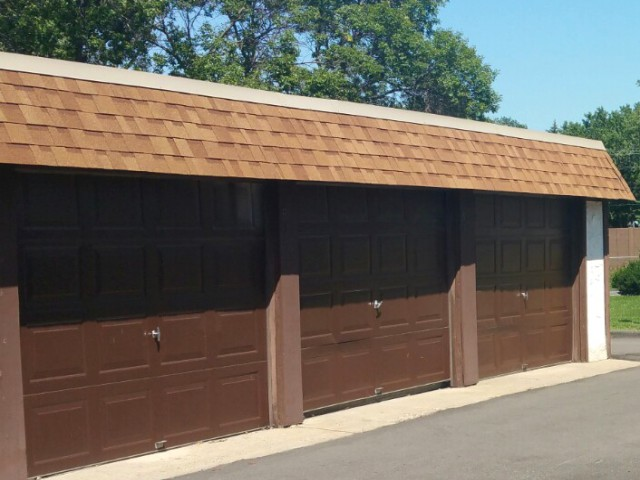 Image of Private or shared garages available for Lancaster Village Apts