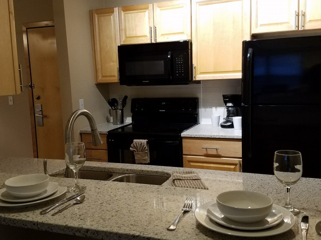 Image of Breakfast bar for Mill City Apts