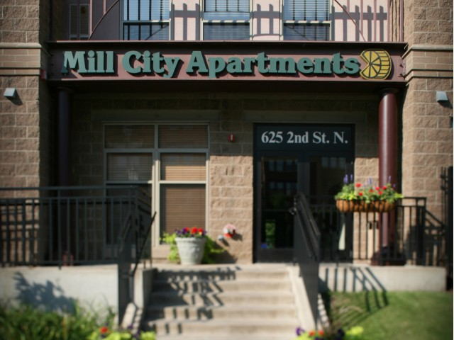 Image of Controlled building access for Mill City Apts