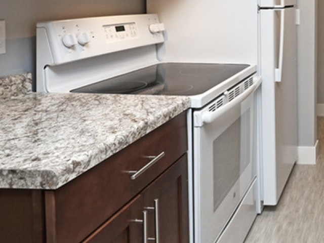 Image of Electric range for The Pines of Burnsville