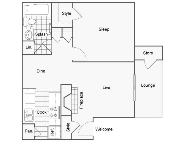 Brazos Floor Plan