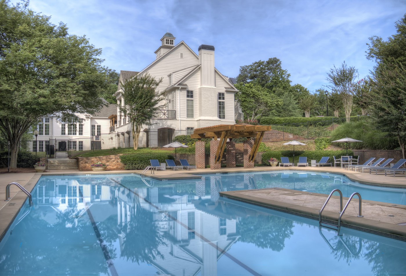 Luxury pool in our Wesley St. James Apartments | Apartments in Atlanta