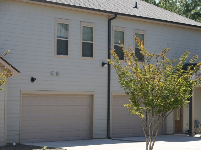 Image of Two-car Automatic Garage with Wireless Remote Control for Church Court East