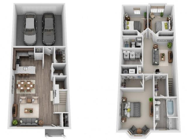 Evanston 3-Bedroom
