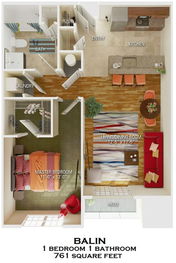 Balin floorplan