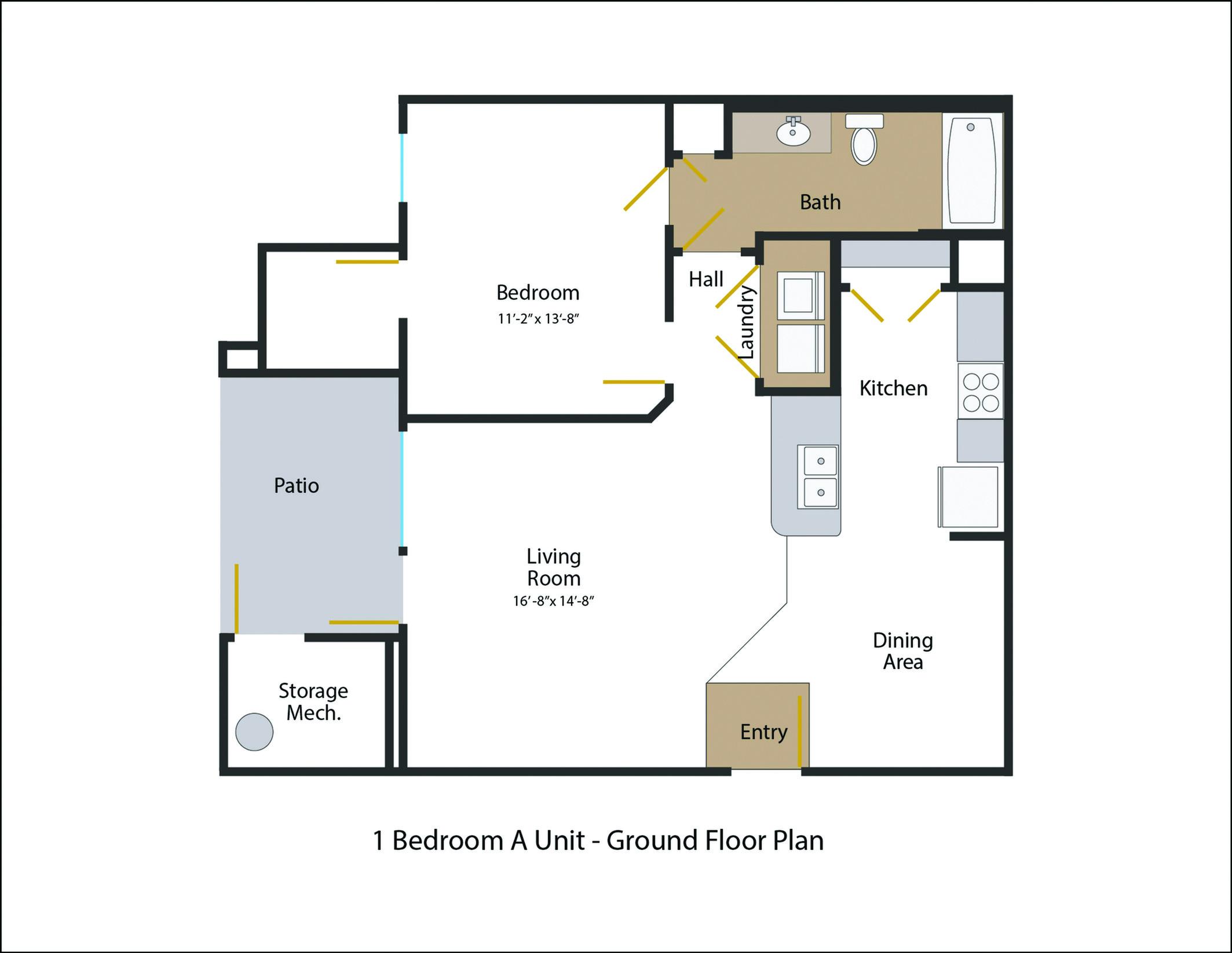 Floor Plan | Legends at White Oak