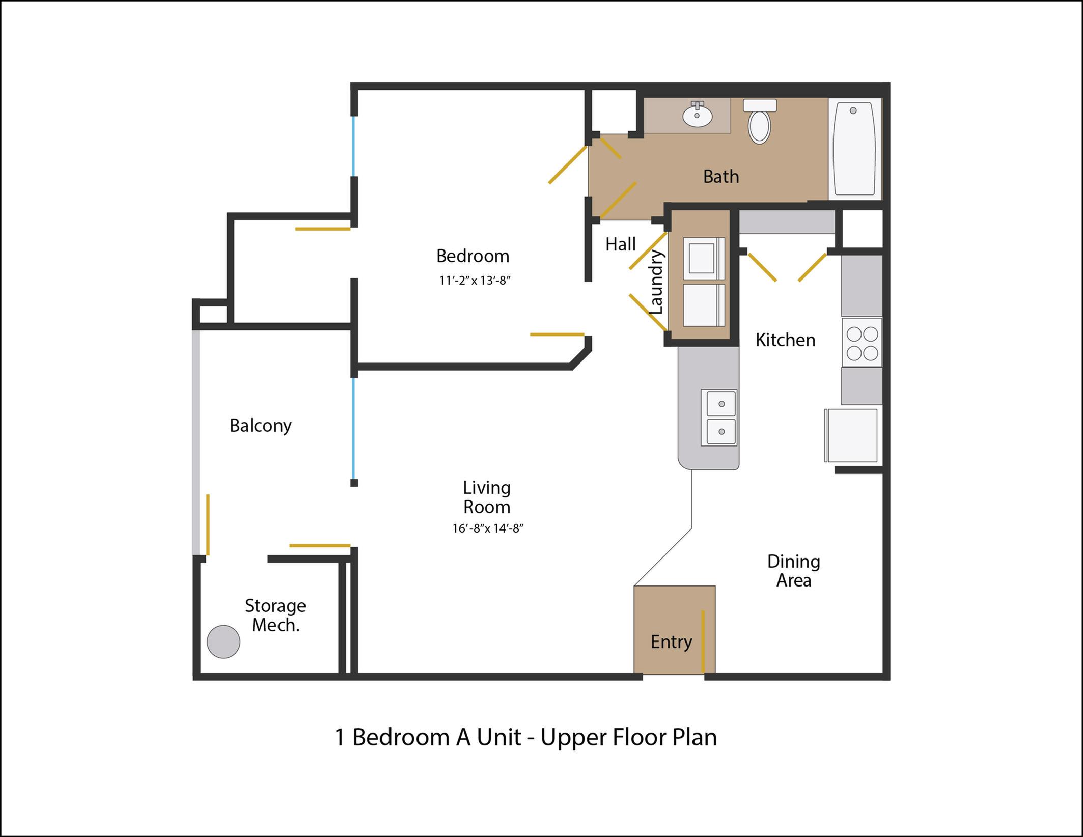Floor Plan 2 | Legends at White Oak