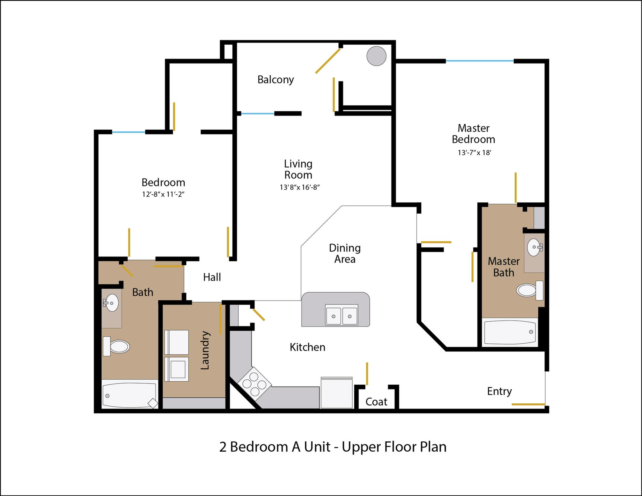 Floor Plan 4 | Legends at White Oak