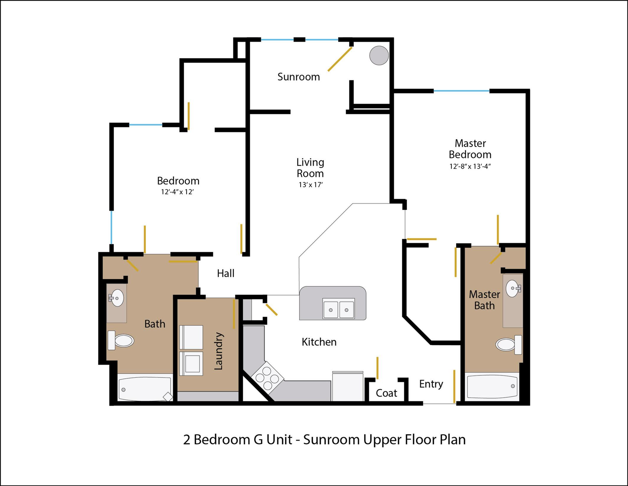 Floor Plan 6 | Legends at White Oak