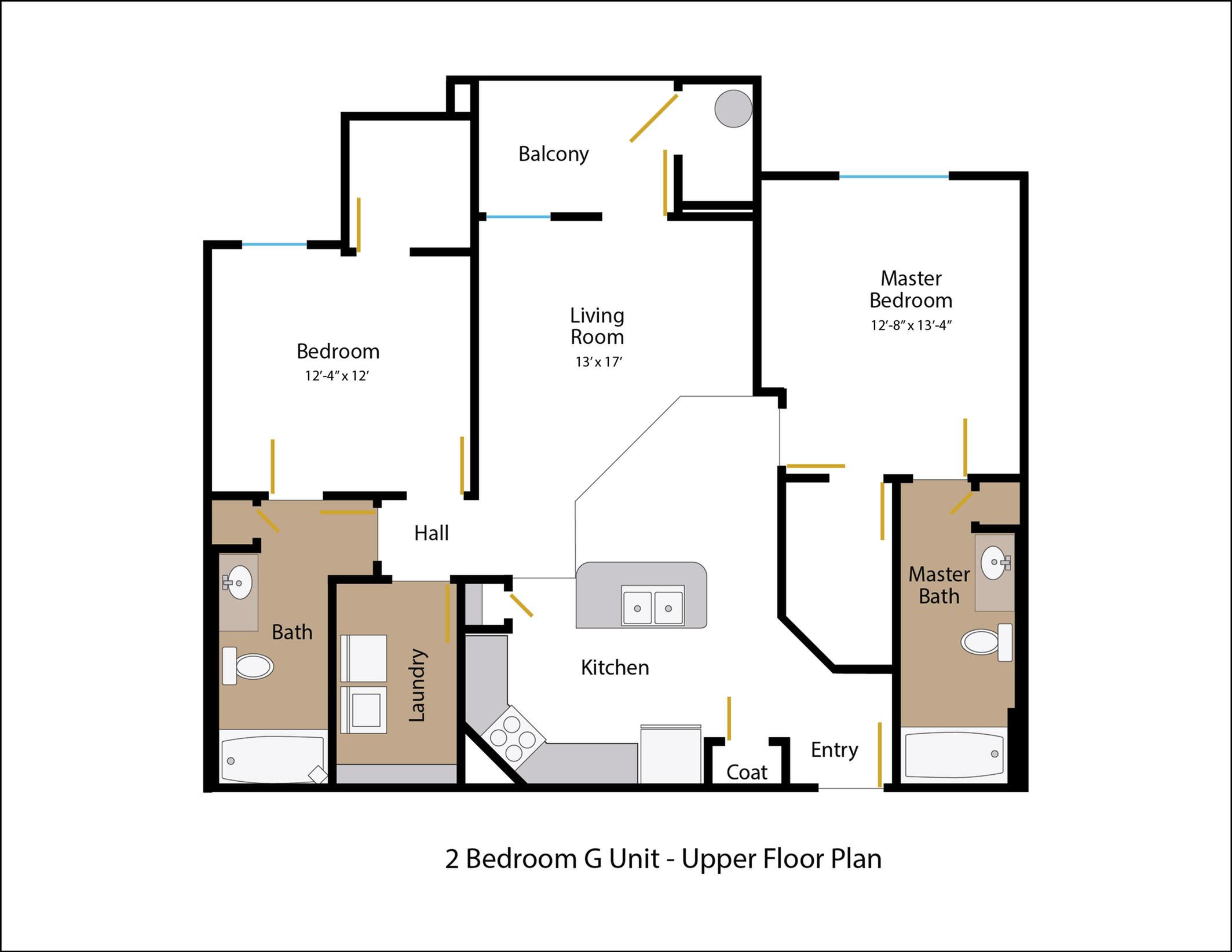 Floor Plan 7 | Legends at White Oak