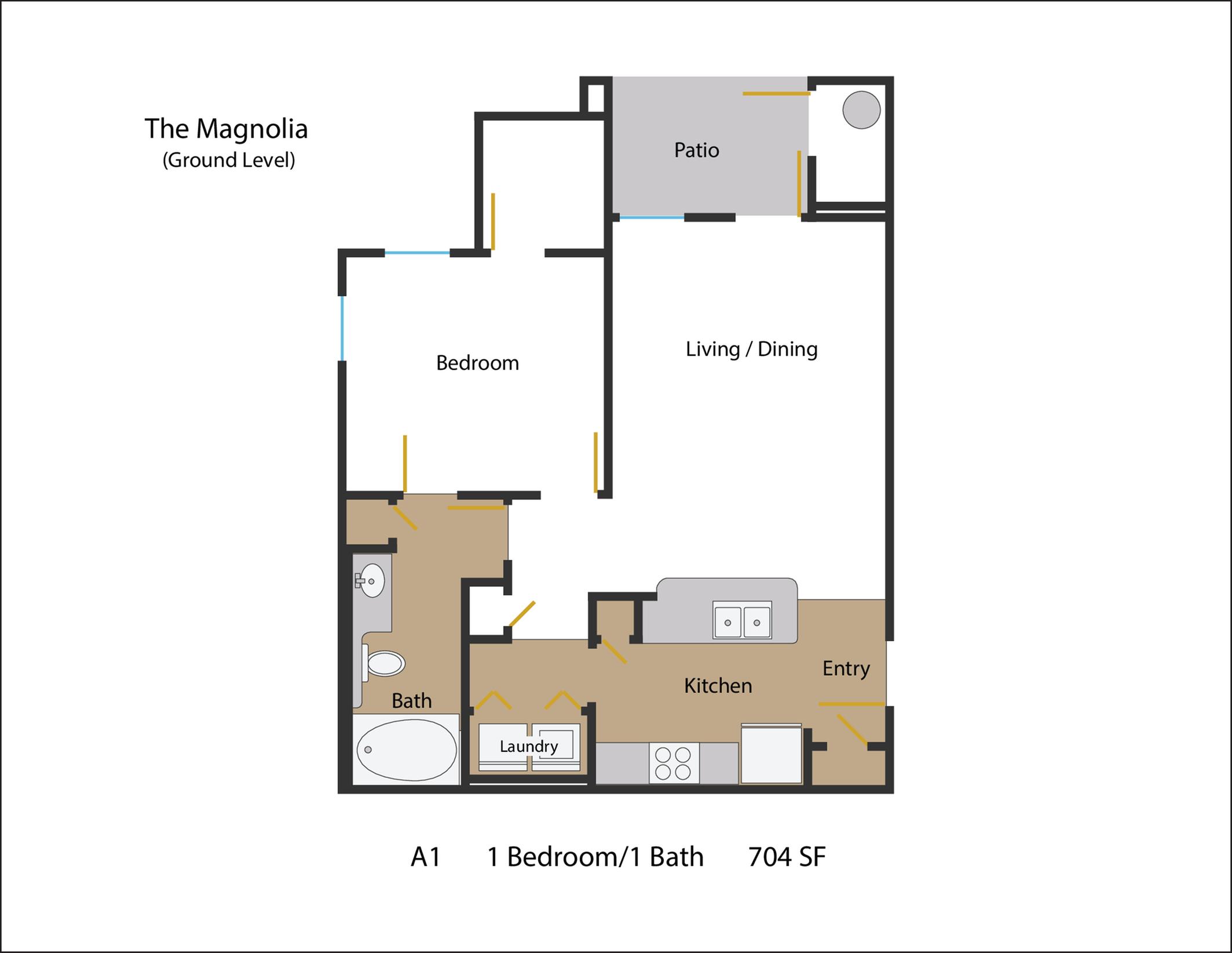 Floor Plan 13 | Legends at White Oak