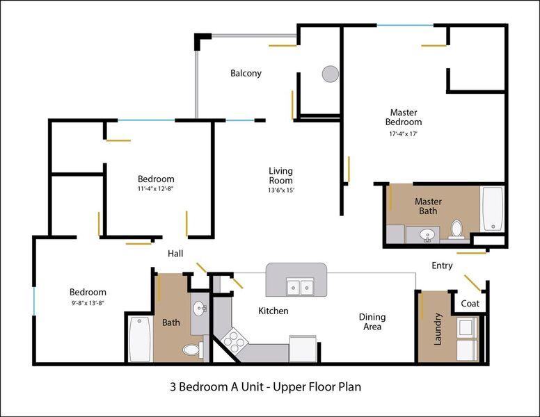 Floor Plan 14 | Legends at White Oak