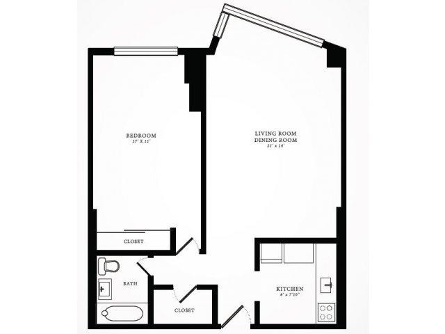 Floor Plan 2 | 1350 Lake Shore Drive