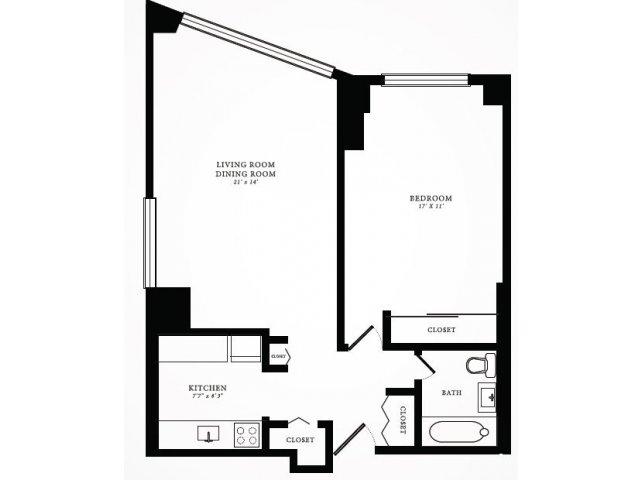 Floor Plan 3 | 1350 Lake Shore Drive