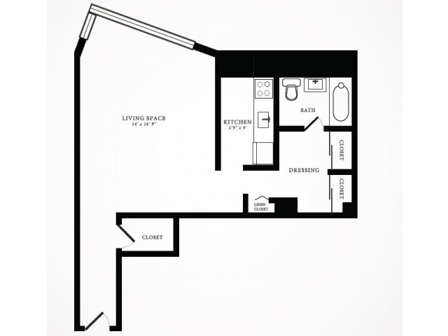 Floor Plan 4 | 1350 Lake Shore Drive