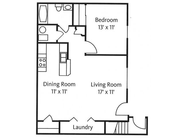 White Oak Floor Plan