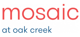 Mosaic at Oak Creek logo.