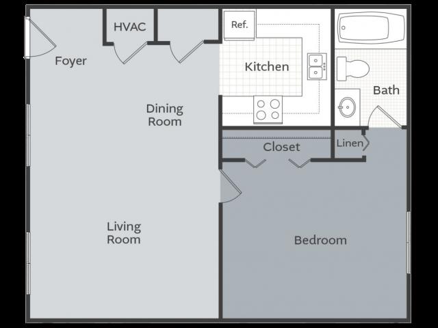 1 Bedroom Apartment Little Rock AR