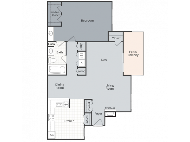 The Woods - 1062 square feet