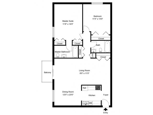 2 bed 2 bath apartment in lancaster pa park city